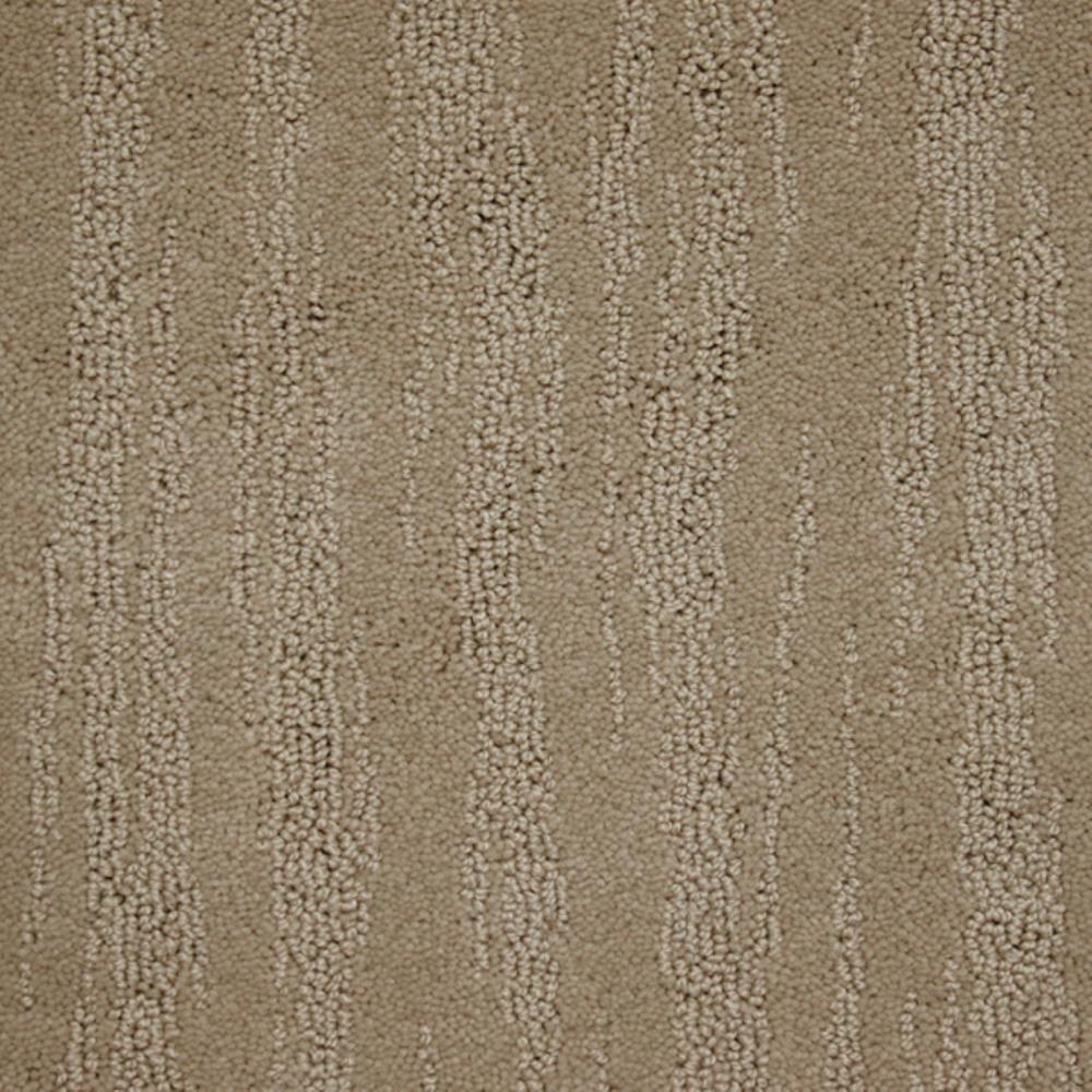 Carpet Sample - Mountain Top - Color Cobblestone Loop 8 in. x 8 in.