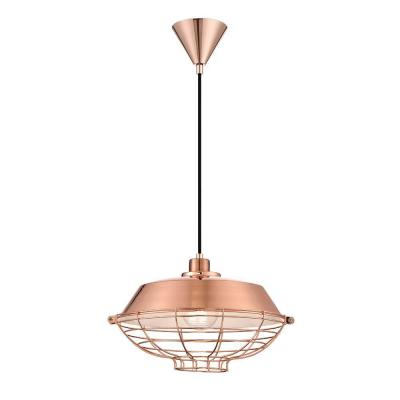 London Collection 1-Light Copper Pendant