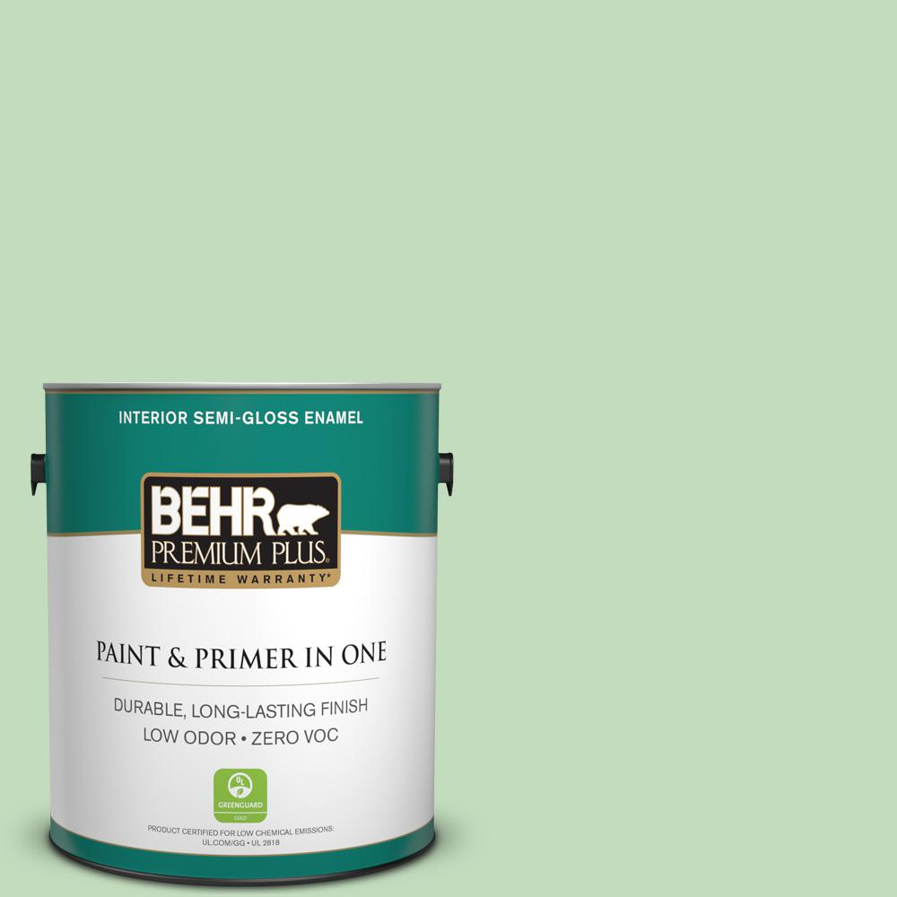 1-gal. #M390-3 Galway Semi-Gloss Enamel Interior Paint
