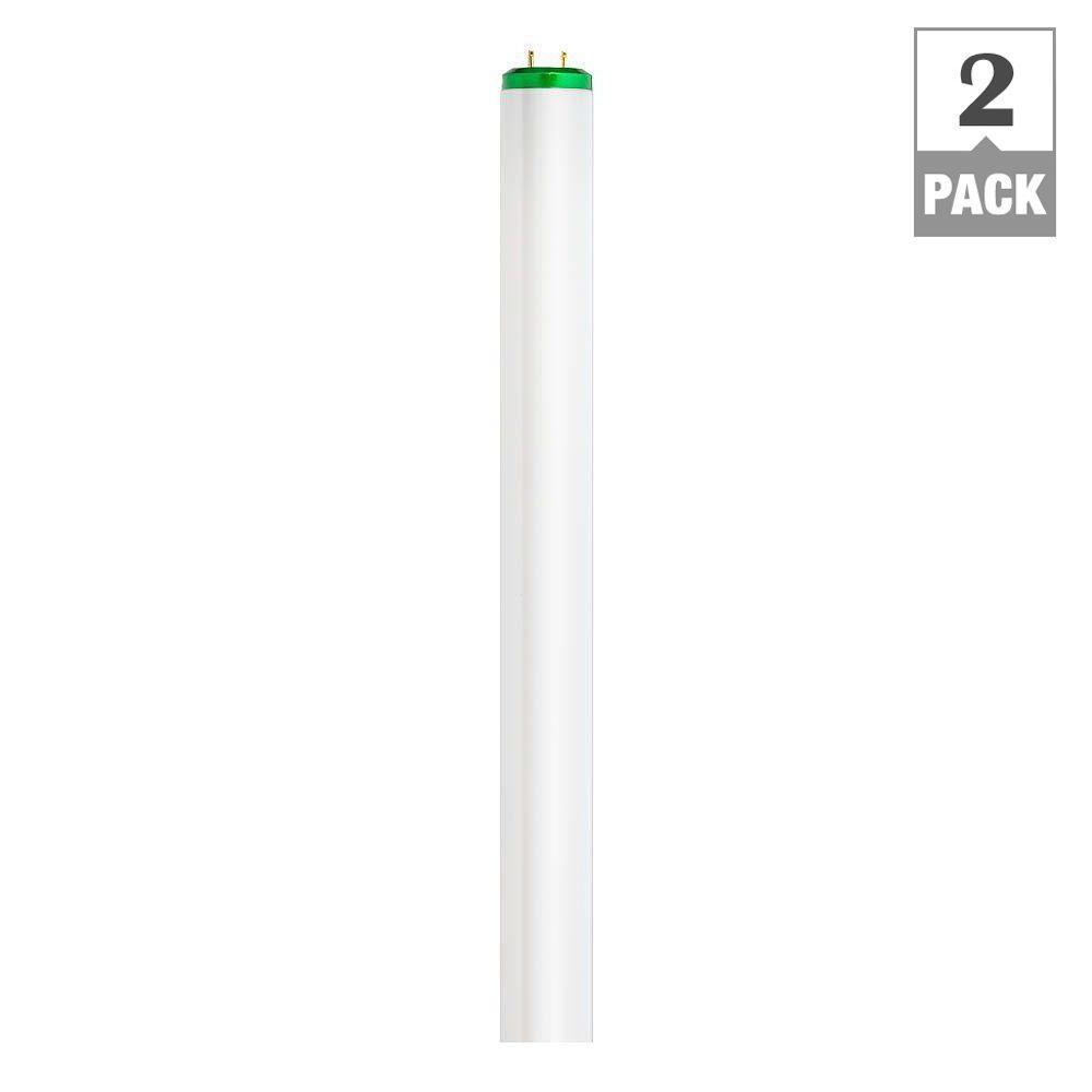 Philips 4 ft. 40-Watt T12 Cool White Supreme Linear Fluorescent ALTO Light Bulb (2-Pack)