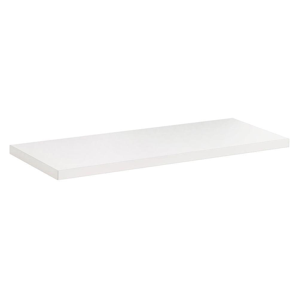 Dolle 23-1/2 in. x 10 in. x 3/4 in. Lite Shelf in White