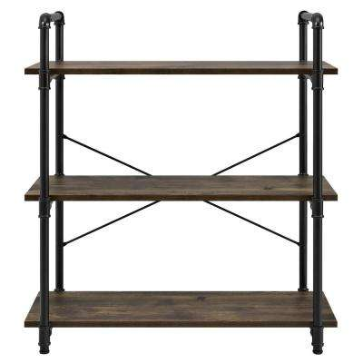 Chesterfield Rustic 3-Shelf Bookcase