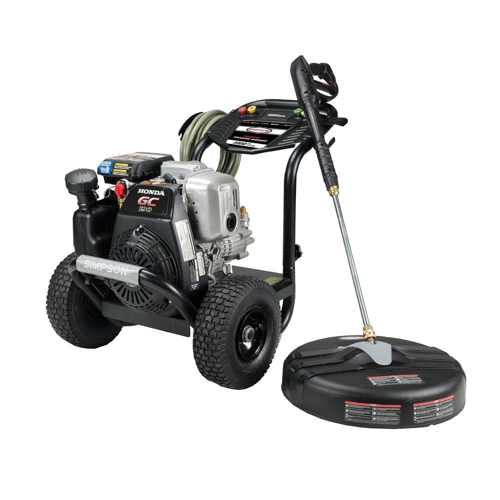 Simpson SIMPSON MegaShot MS61033-S 3300 PSI at 2.4 GPM HONDA GC190 Cold Water Pressure Washer