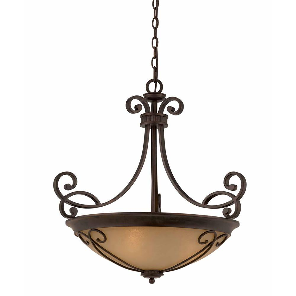Charry 4-Light Bronze Pendant