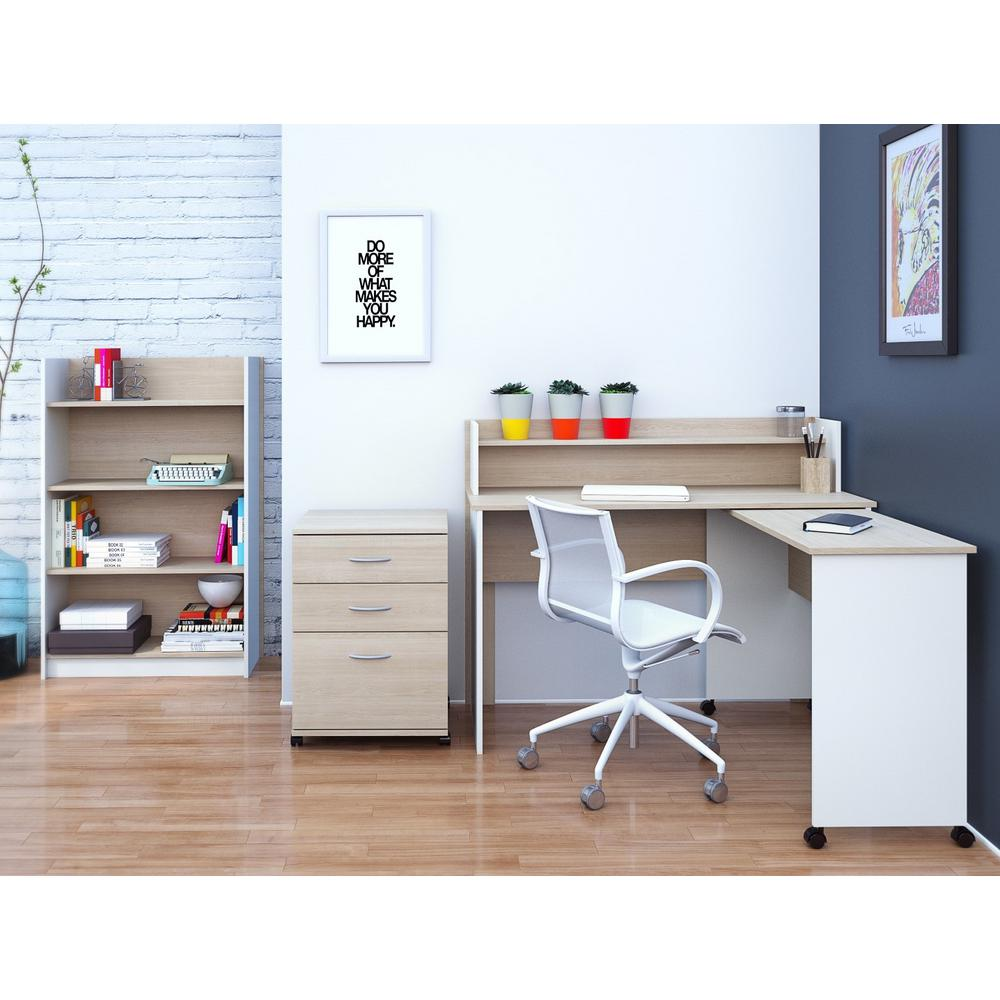 Atelier Natural Maple Filing Cabinet-5092 - The Home Depot