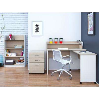 Atelier Natural Maple Filing Cabinet
