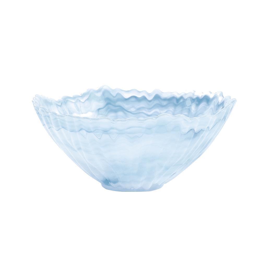 Alabaster Glass Mist Bowl (Set of 4)