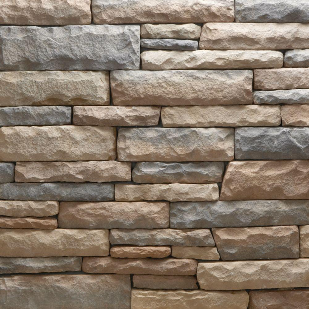 Veneerstone imperial stack stone vorago flats 10 sq ft for Manufactured veneer stone