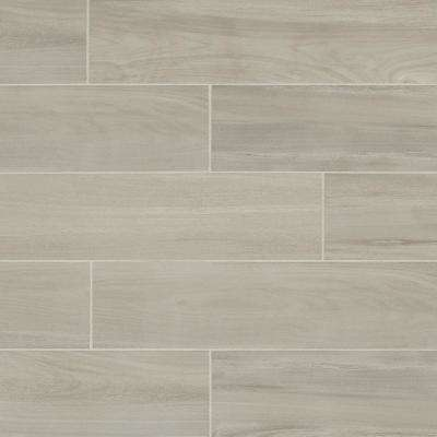EverMore Linen Wood 6 in. x 24 in. Porcelain Floor and Wall Tile (14.55 sq. ft. / case)