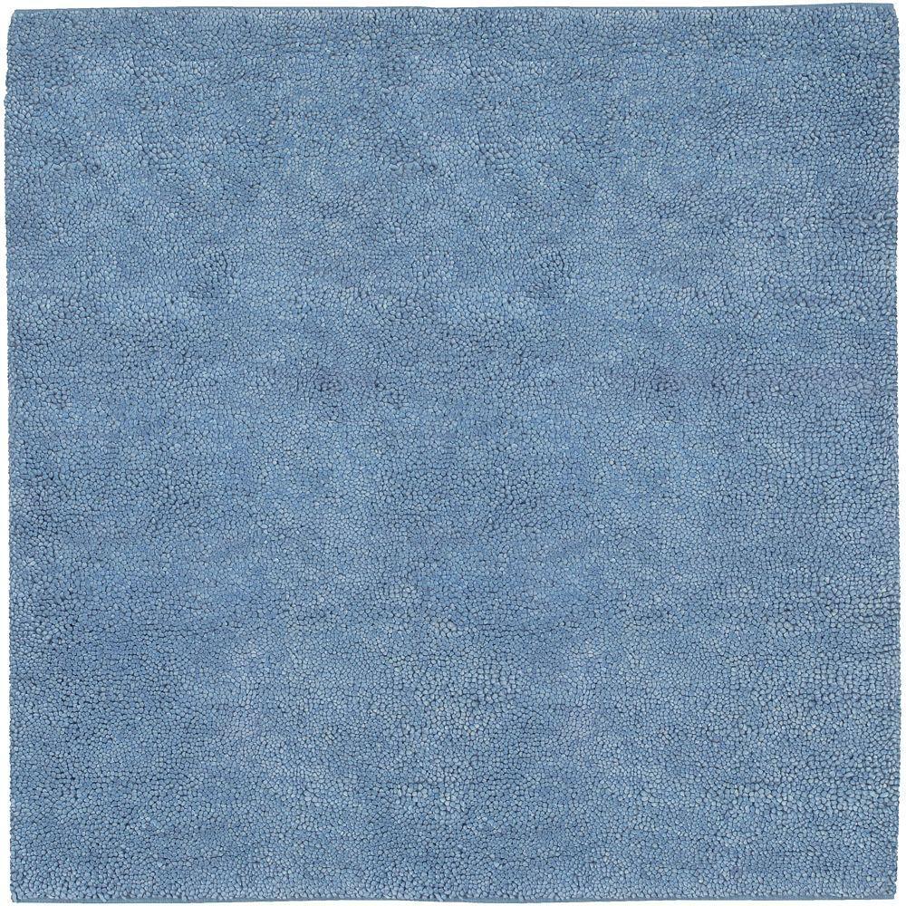 Artistic Weavers Cambridge Sky Blue 8 ft. Square Area Rug