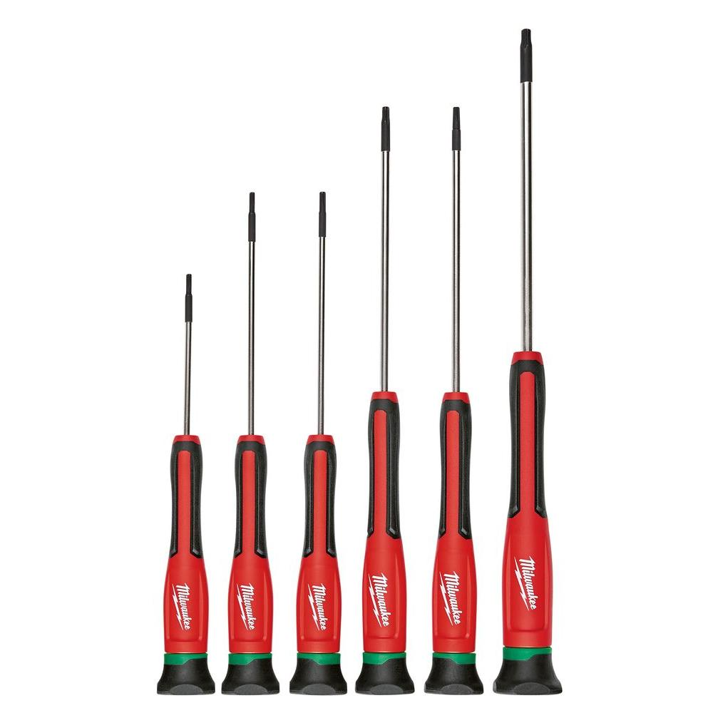 Torx Precision Screwdriver Set (6-Piece)