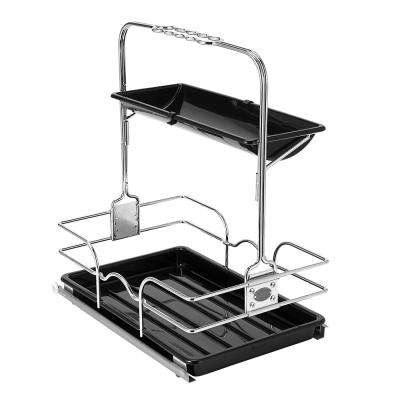 18.5 in. D x 11.7 in. W x 19.7 in. H Pullout Caddy Kit Metal Closet System