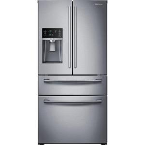 Click here to buy Samsung 28.15 cu. ft. 4-Door French Door Refrigerator in Stainless Steel by Samsung.
