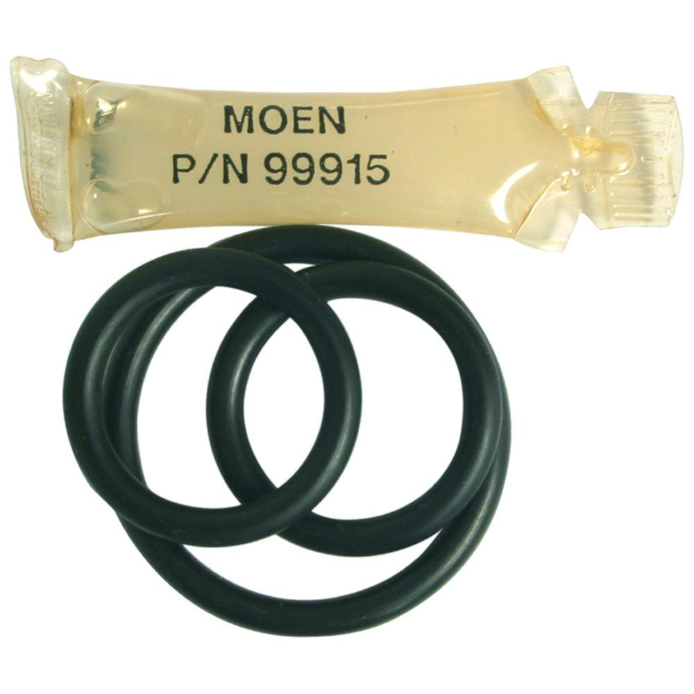 how to replace o ring in moen kitchen faucet moen 117 spout o ring kit 131107 the home depot 547