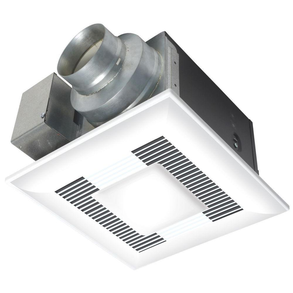 Panasonic WhisperLite 110 CFM Ceiling Exhaust Bath Fan with Light ENERGY STAR*-DISCONTINUED