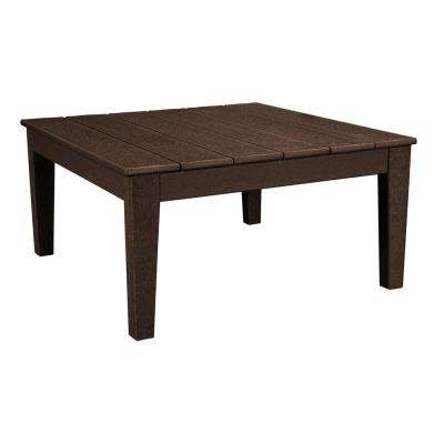 Newport 36 in. Square Plastic Outdoor Coffee Table
