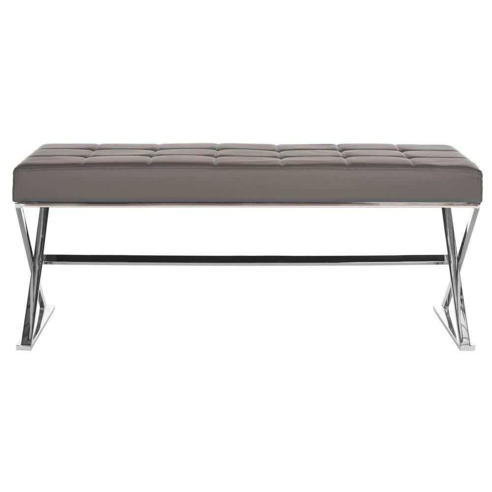 Micha Grey Bench