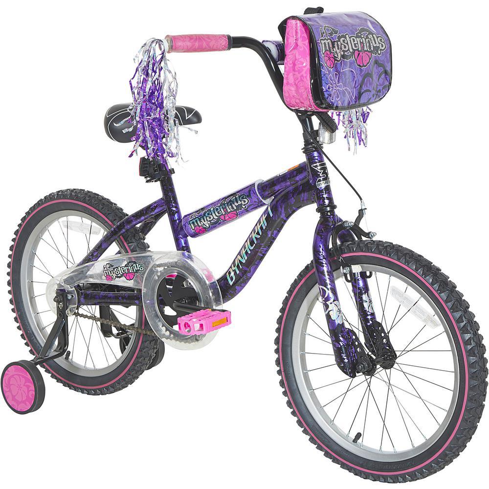 Bmx Bikes For Kids >> Dynacraft 18 In Kids Mysterious Bike 8094 15tji The Home Depot
