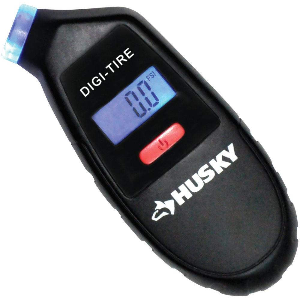 Husky 4 In Digital Tire With Gauge Aaa0138j The Home Depot Tachometer Circuit Led Bar