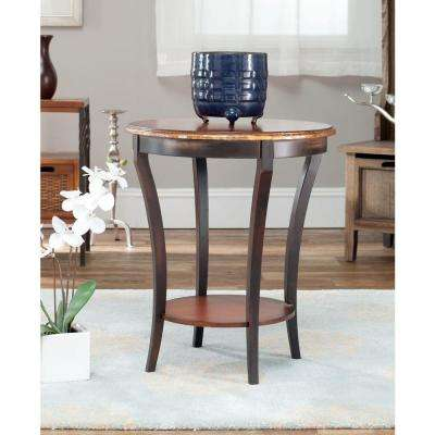 Henry Cappuccino Side Table