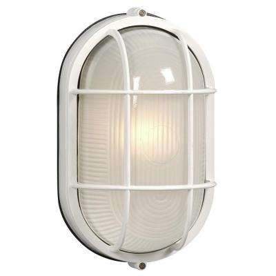 Rowan 1-Light Outdoor White Sconce