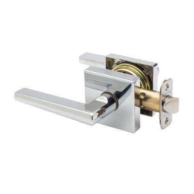 Verona Polished Stainless Passage Lever