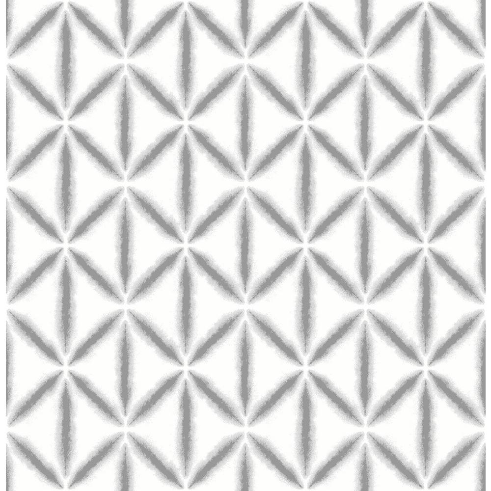 8 in. x 10 in. Grey Mood Peel and Stick Wallpaper