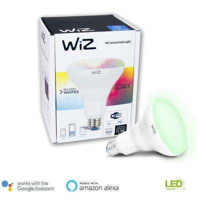 72W Equivalent BR30 Colors and Tunable White Wi-Fi Connected Smart LED Light Bulb