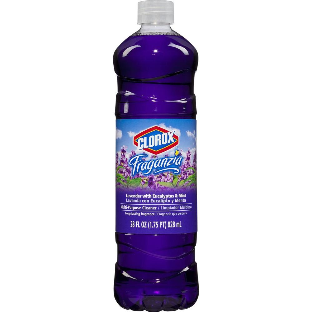 Clorox 28 oz. Lavender with Eucalyptus and Mint Multi-Purpose Cleaner