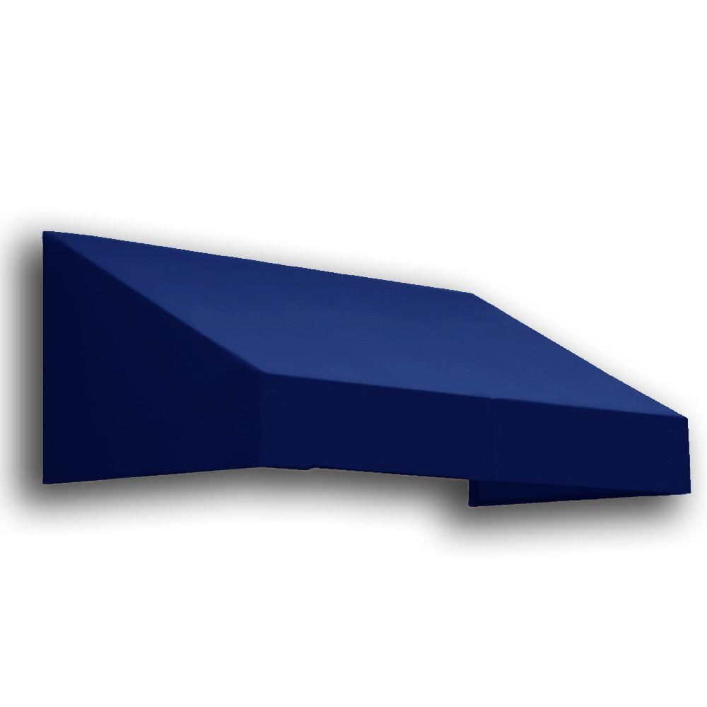 AWNTECH 8 ft. San Francisco Window/Entry Awning (18 in. H x 36 in. D) in Navy