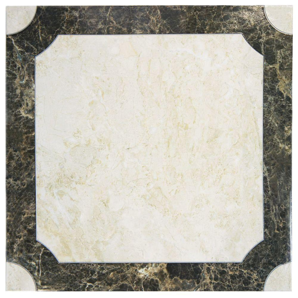 Merola tile gamma rosa 11 34 in x 11 34 in ceramic floor and merola tile gamma rosa 11 34 in x 11 34 in ceramic floor and wall tile 11 sq ft case ftc12grs the home depot dailygadgetfo Image collections