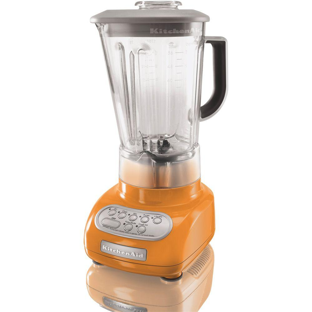 KitchenAid 5-Speed Polycarbonate Jar Blender in Tangerine