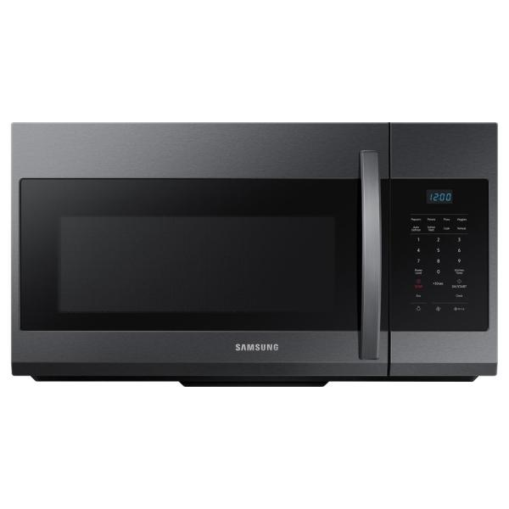 30 in. W 1.7 cu. ft. Over the Range Microwave in Fingerprint Resistant Black Stainless Steel
