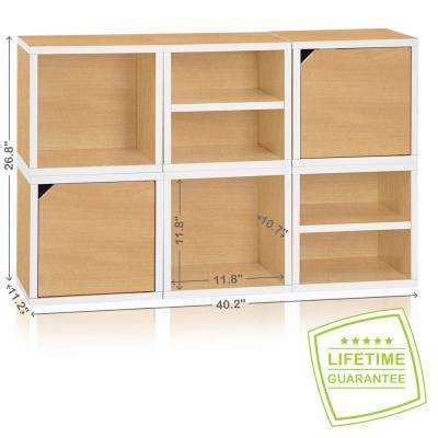 Connect System 40.2 In. W X 26.8 In. H Modular Eco Stackable 6