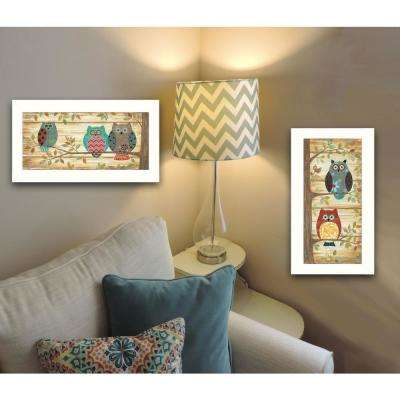 """""""Whimsical Owls"""" by Annie LaPoint Framed Wall Art"""