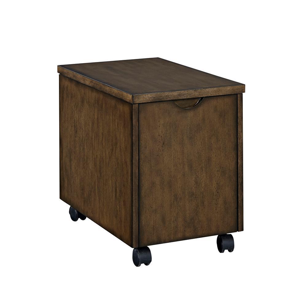Xcel Mahogany File Cabinet