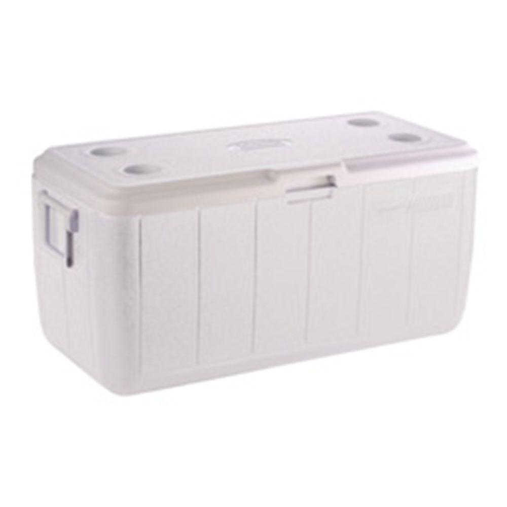 Coleman 100 qt. Marine Cooler with Built-in Cup Holder