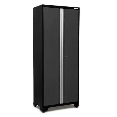 Bold 3 Series 77 in. H x 30 in. W x 18 in. D 24-Gauge Welded Steel 30 in. Multi-Use Locker in Gray