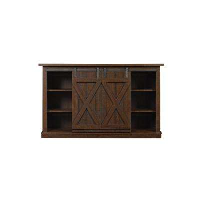 Cottonwood TV Stand for 60 in. TVs in Sawcut Espresso