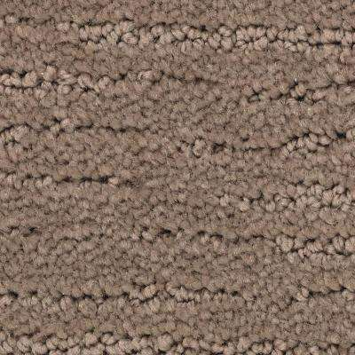 Carpet Sample - Enchantment - Color Fireside Pattern 8 in. x 8 in.