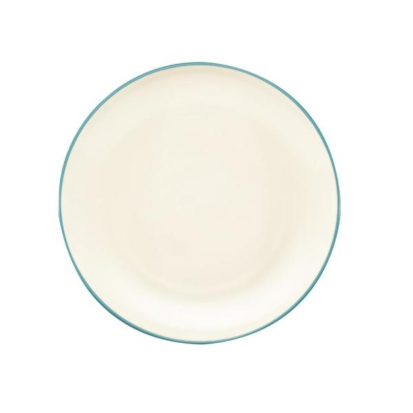 Noritake Colorwave 10.5 in. Turquoise Coupe Dinner Plate 8093-406