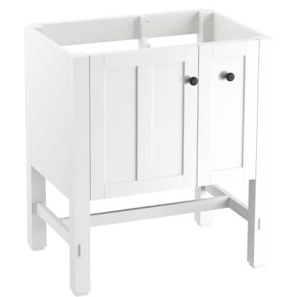 Tresham 30 in. W x 21-7/8 in. D x 34-1/2 in. H Vanity Cabinet in Linen White