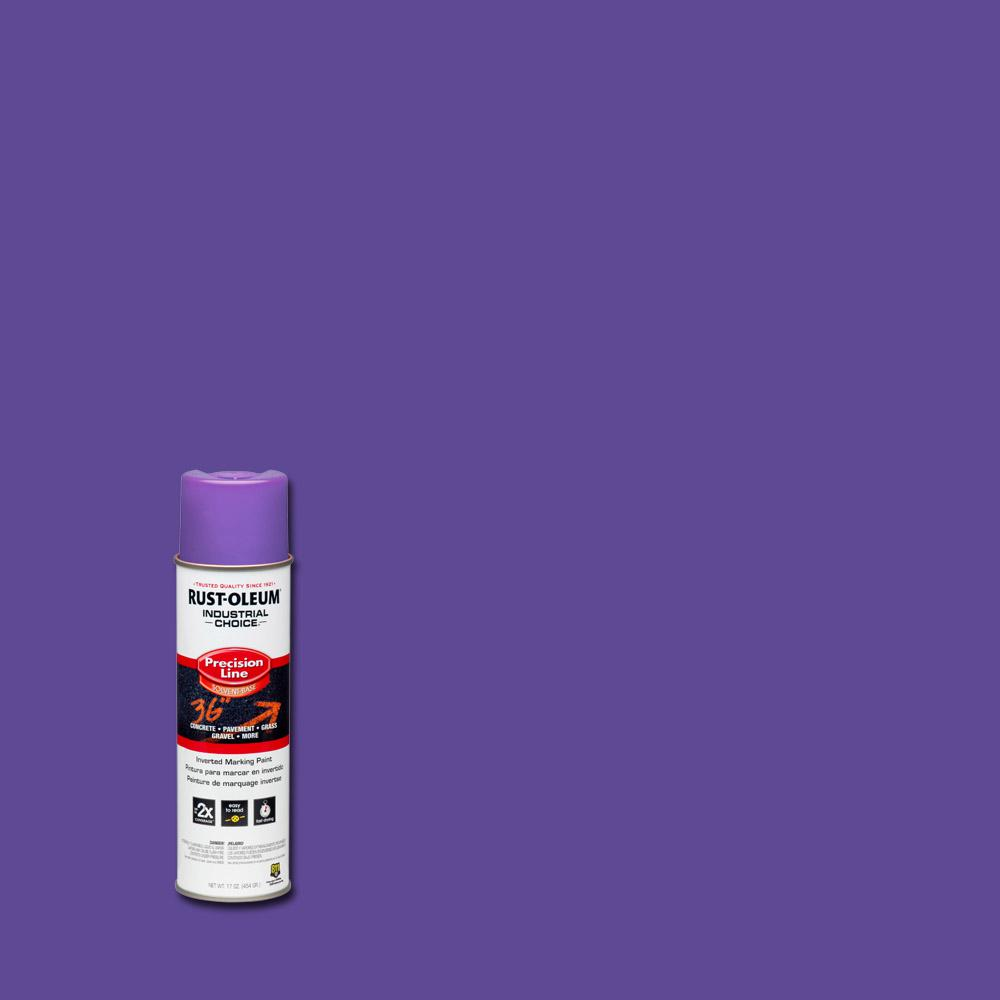 17 oz. M1600 System Precision Line Solvent-Based Fluorescent Purple Inverted