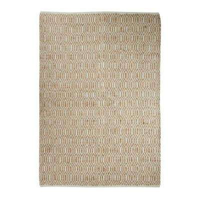 SunnyVale Natural 5 ft. x 7 ft. Indoor Area Rug