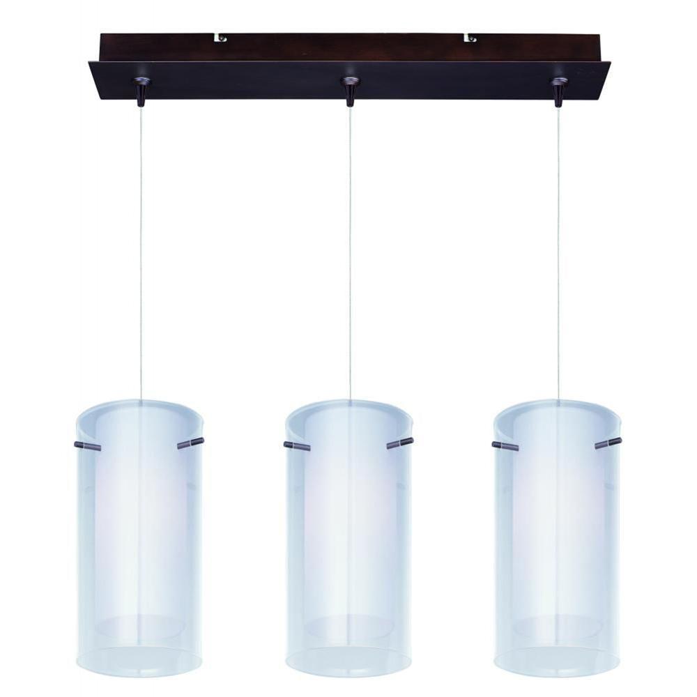 Frost 3-Light RapidJack Pendant and Canopy