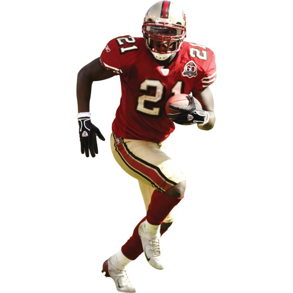 Fathead 31 in. x 71 in. Frank Gore San Francisco 49ers Wall Decal