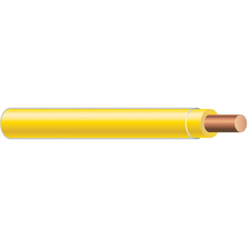 Southwire (By-the-Foot) 12 Yellow Solid CU THHN Wire