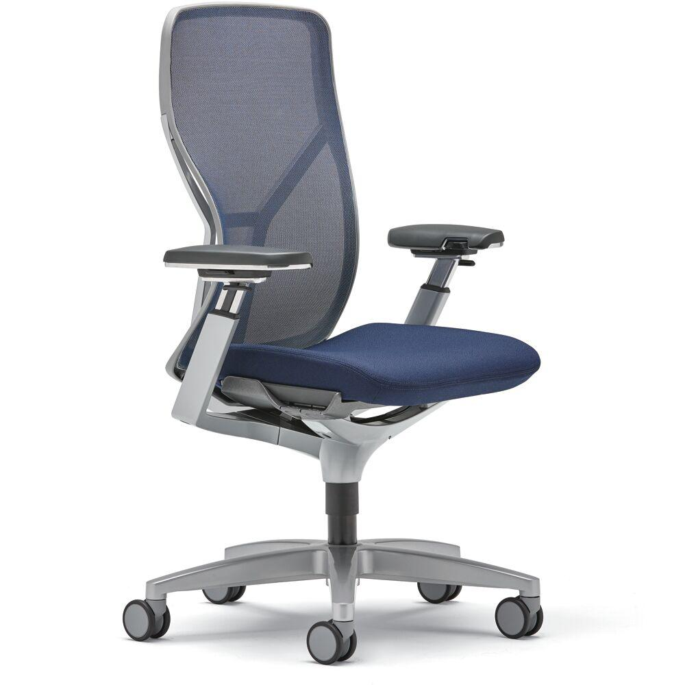 Almo Fulfillment Acuity Mesh Back Task Chair Blue 19638