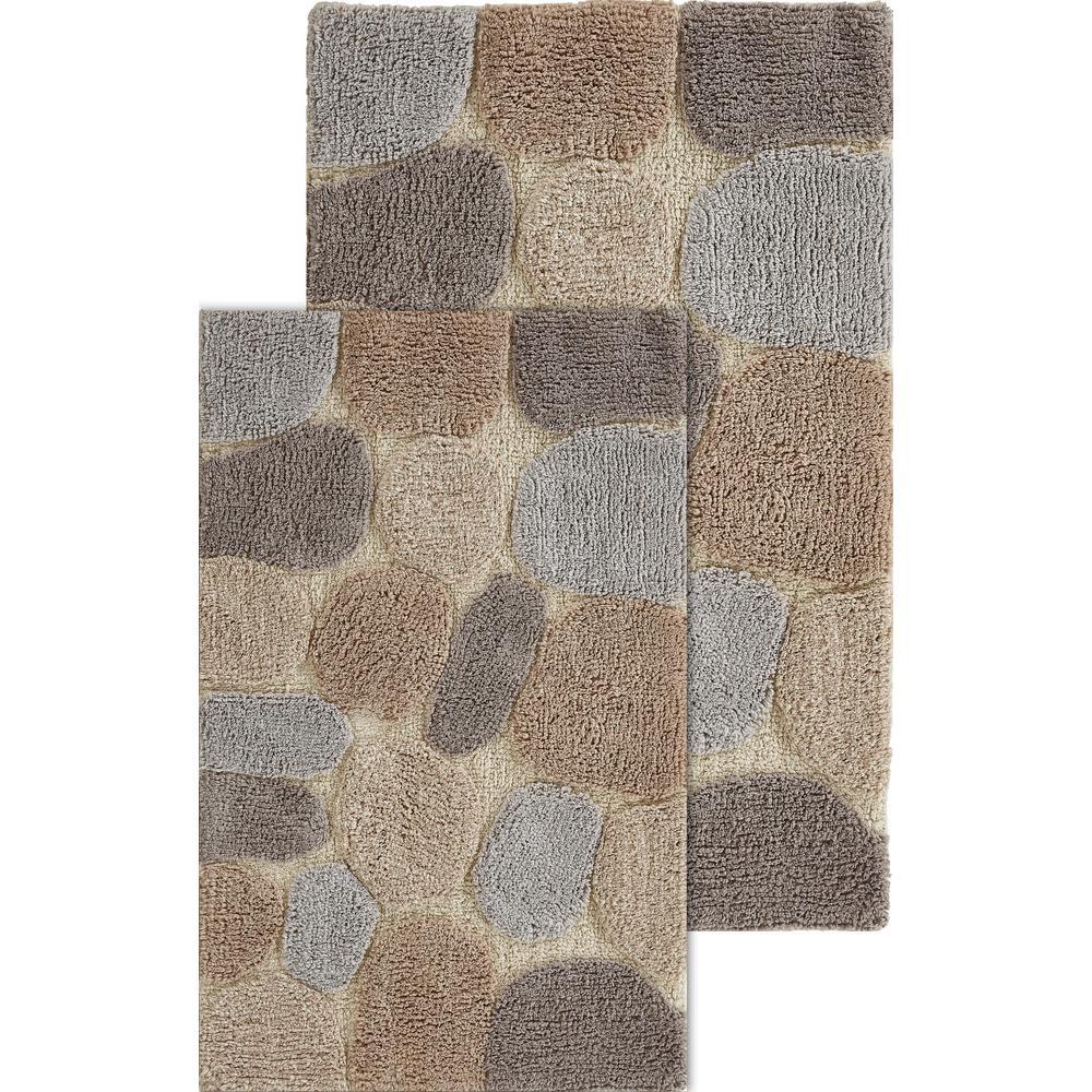 Pebbles Amethyst 24 In X 40 Cotton