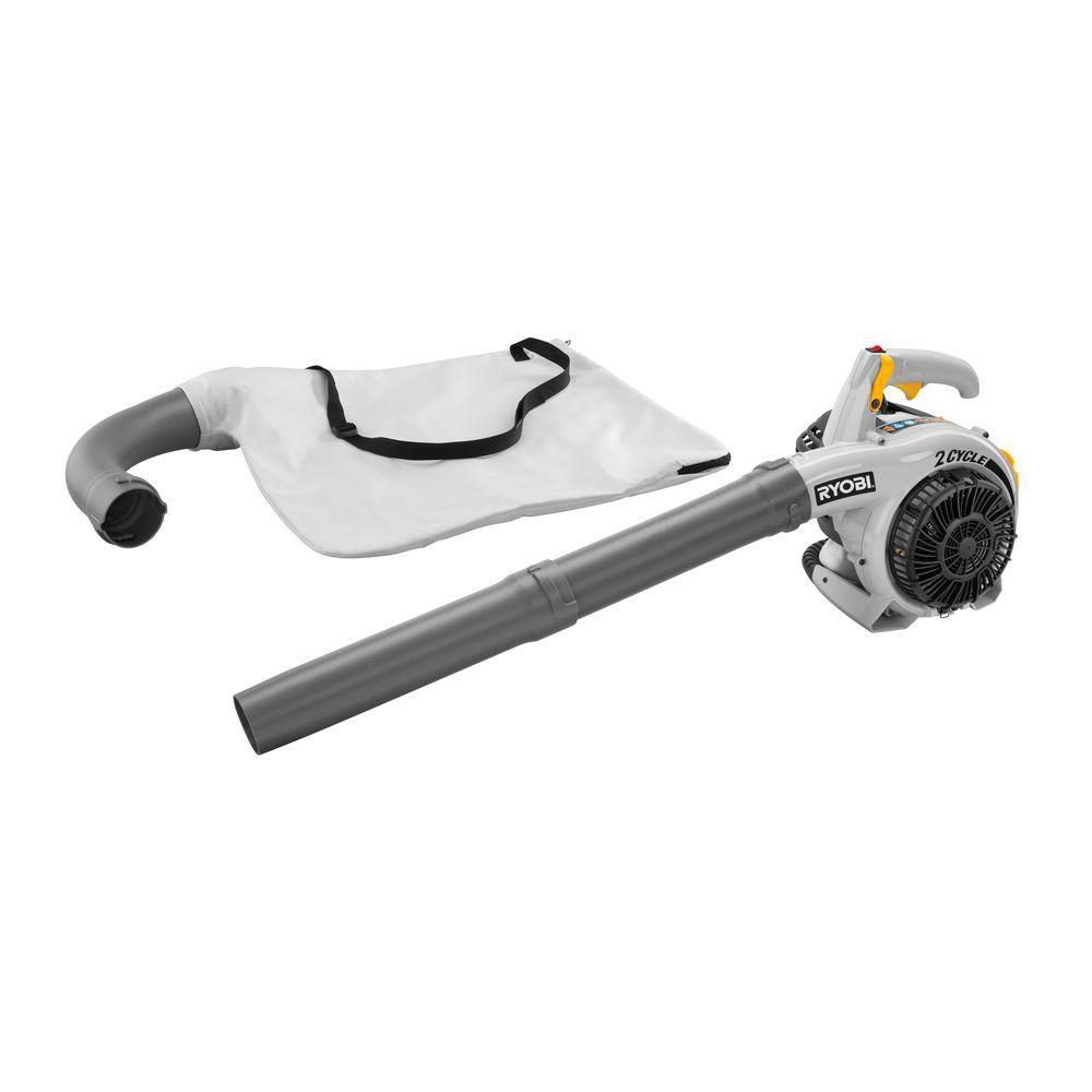 RYOBI 150 MPH 400 CFM 26cc Gas Leaf Blower Vacuum
